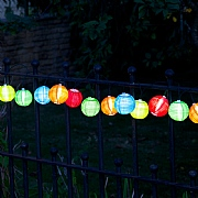 Smart Solar Chinese Lanterns Solar - Set of 10