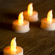 Flameless Tea Lights (Pack of 6)