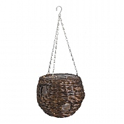 Smart Garden Hyacinth Hanging Ball - Dark - 9''