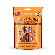 Pet Munchies Natural Chicken & Cheese 100g