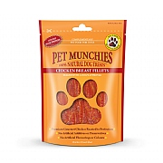 Pet Munchies Natural Chicken Breast Fillets 100g