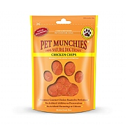 Pet Munchies Natural Chicken Chips 100g
