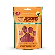 Pet Munchies Natural Duck Breast Fillets 80g