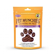 Pet Munchies Natural Liver and Chicken Training Treats 50g