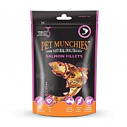 Pet Munchies Natural Salmon Fillets 90g