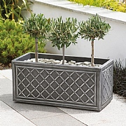 Stewart Garden 70cm Lead Effect Trough - Pewter