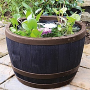 Blenheim Half Barrel Planter 40cm Copper