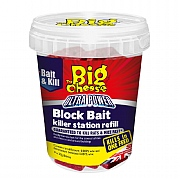 The Big Cheese Ultra Power Block Bait Killer Station Refills  (9 x 20g)