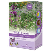 Wild Flower Woodland Shade Mix Scatter Pack