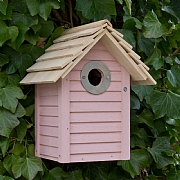 Wildlife World New England Nest Box Pink