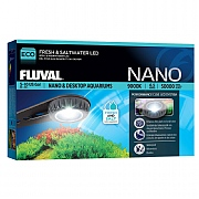 Fluval Nano High Performance LED Fresh & Saltwater Lamp 6.5w
