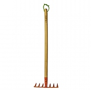Briers Kids Wooden Handle Garden Soil Rake
