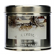 Winter Walks Luxury Candle Tin
