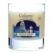 Silent Night Scented Votive Candle in Holder