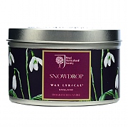 Snowdrop Scented Candle Tin