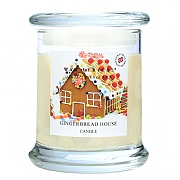 Wax Lyrical Gingerbread House Candle Jar
