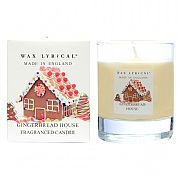 Wax Lyrical Gingerbread House Candle Glass