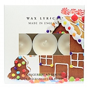 Wax Lyrical Gingerbread House 9 Tealights