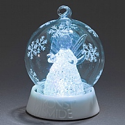 Colour Changing Angel Glass Ball - Battery Operated