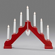 Red 7 Candlestick Welcome Light