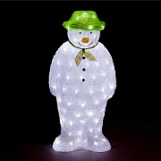 The Snowman Ice White LED Acrylic Figure 55cm