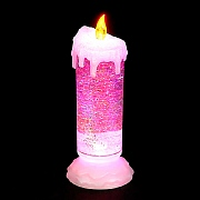 24cm Water Filled Candle