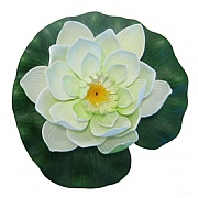 Pontec PondoLily Decorative Pond Lily Pad - White