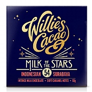Willie's Cacao Milk of The Stars Indonesian Milk Chocolate 50g
