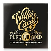Willie's Cacao Pure 100% Gold Dark Chocolate 65g