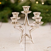 5 Candle Star Candlestick Holder