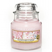 Yankee Candle Snowflake Cookie Small Jar Candle