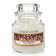 Yankee Candle All Is Bright Small Jar Candle