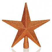 Copper Tree Top Star 20cm