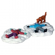 Lemax Snow Angels Set of 2