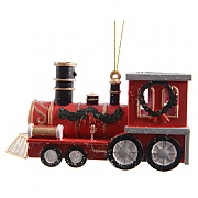 Hanging Christmas Train - 12cm