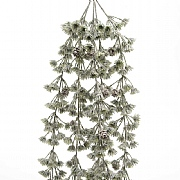 Green Hanging Bush with Pinecones 110cm