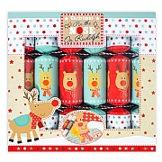 Pin The Nose On Rudolph Christmas Crackers Pack of 6
