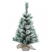 60cm Snowy Vancouver Mini Artificial Christmas Tree
