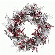 60cm Mixed Berry Wreath