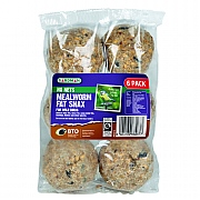 No Nets Mealworm Fat Snax 6 Pack