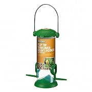 Gardman Wild Bird Care Flip Top Sunflower Hearts Feeder