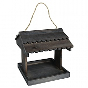 Wood Hanging Bird Table