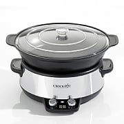 Digital Saute Crock-Pot Slow Cooker 6ltr