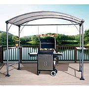 Memphis Grill Gazebo - Dark Brown