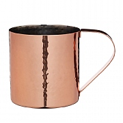 Bar Craft Hammered Copper Finish Moscow Mule Mug 550ml