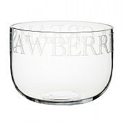 Master Class Artesa Etched Glass Serving Bowl