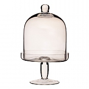 Master Class Artesa Glass Domed Footed Serving Stand