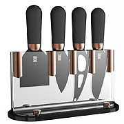 4 Piece Brooklyn Copper Cheese Knife Set