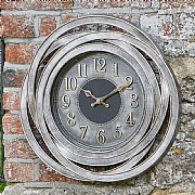 Outside In Ripley Wall Clock 50cm