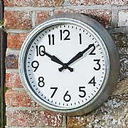 Outside In Padstow Wall Clock 38cm